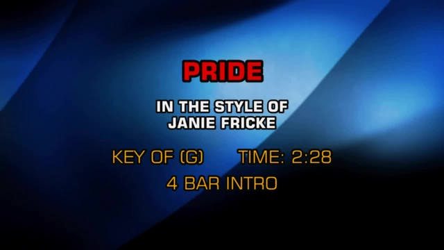 Janie Fricke - Pride