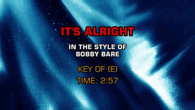 Bobby Bare - It's Alright