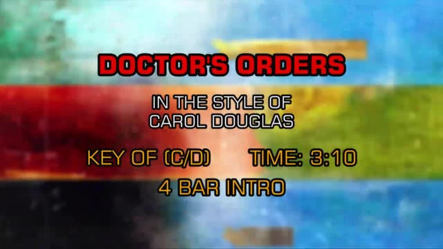 Carol Douglas - Doctor's Orders