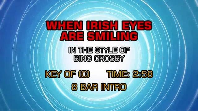 Bing Crosby - When Irish Eyes Are Smiling