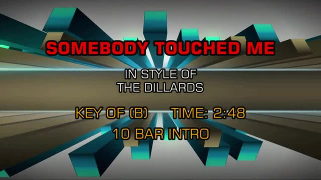 The Dillards - Somebody Touched Me