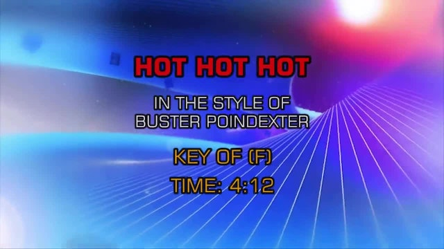 Buster Poindexter - Hot, Hot, Hot