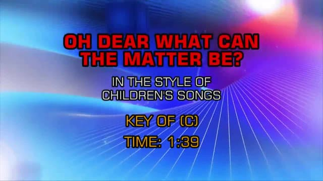 Children's Fun Songs - Oh Dear What C...