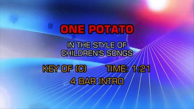 Children's Fun Songs - One Potato