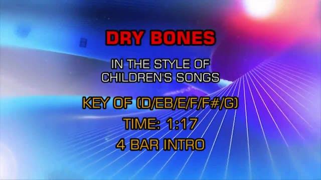 Children's Fun Songs - Dry Bones