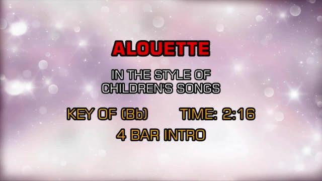 Children's Happy Songs - Alouette