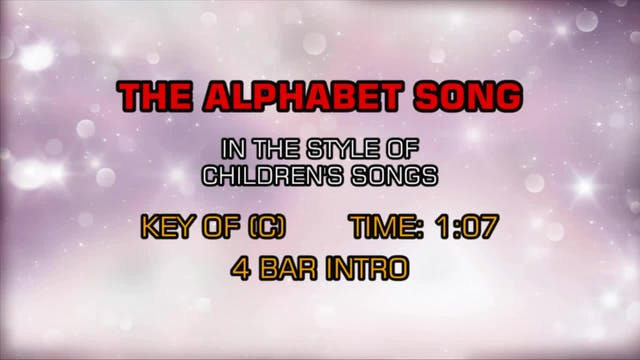 Children's Happy Songs - The Alphabet...