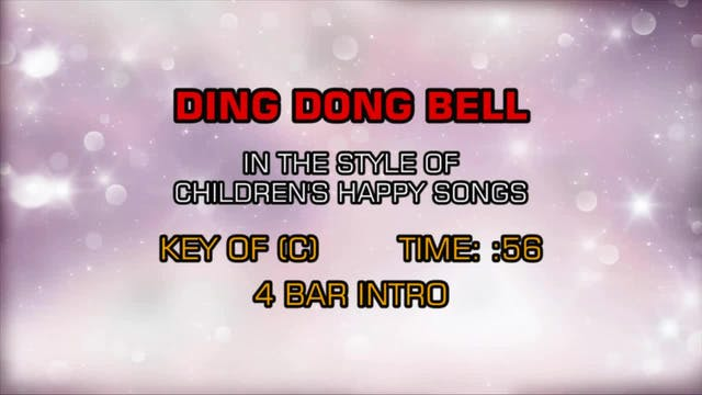 Children's Happy Songs - Ding Dong Bell