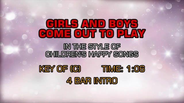 Children's Happy Songs - Girls & Boys...