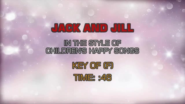 Children's Nursery Rhymes - Jack And ...