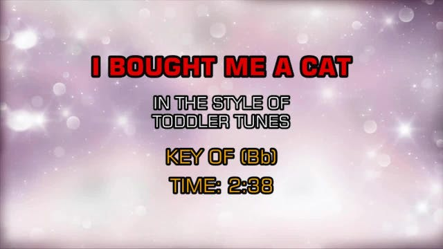Children's Toddler Tunes - I Bought M...