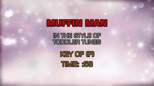 Children's Toddler Tunes - Muffin Man