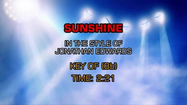 Jonathon Edwards - Sunshine