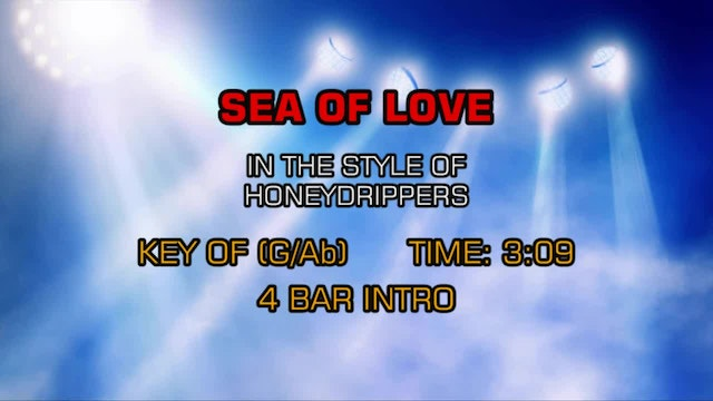 Honeydrippers - Sea Of Love