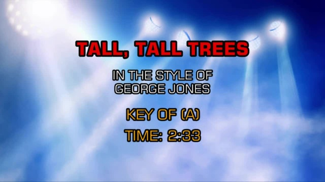 George Jones - Tall, Tall Trees