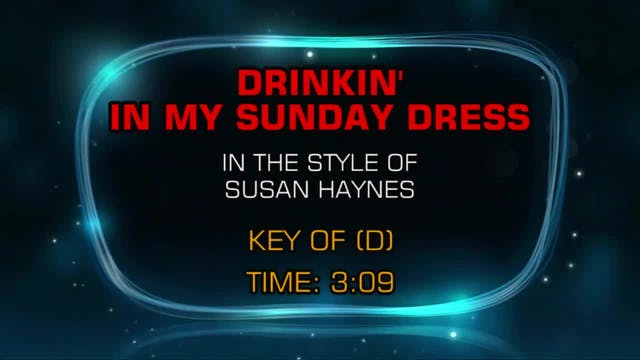 Susan Haynes - Drinkin' In My Sunday ...