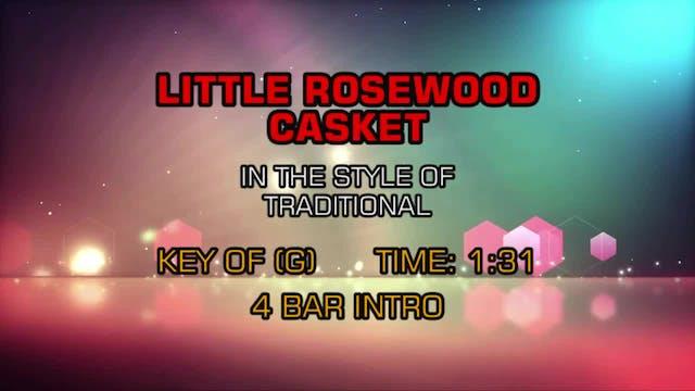 Traditional Gospel - Little Rosewood Casket