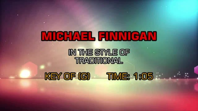 Children's - Michael Finnegan