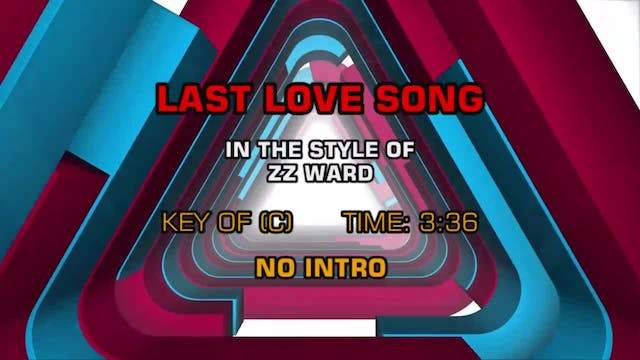 ZZ Ward - Last Love Song