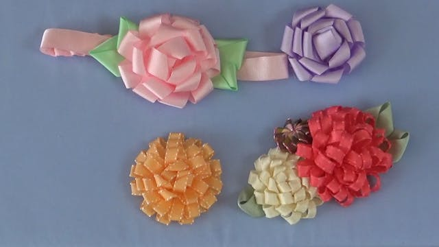 Making Single Loop Flowers