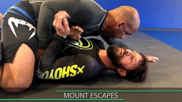 TrapRoll/ElbowKnee Escape 2of6