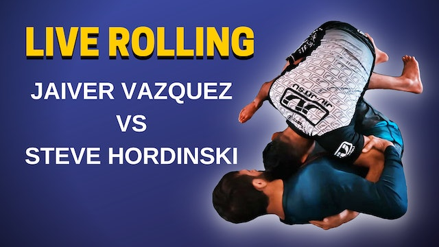 Live Rolling with Professor Javier Vazquez