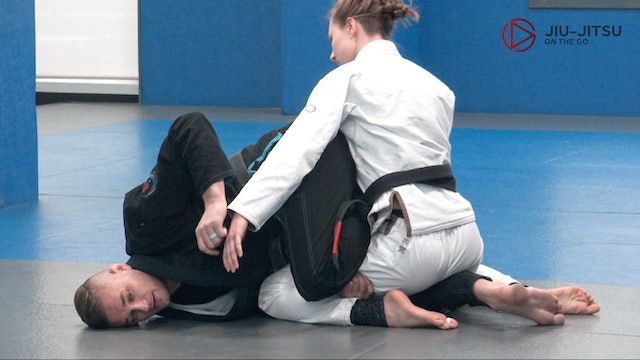 Knee bar from half guard 4of7