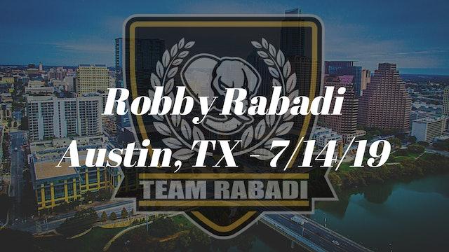 Robby Rabadi - 7/14/19