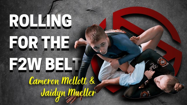 Rolling for the Fight 2 Win belt