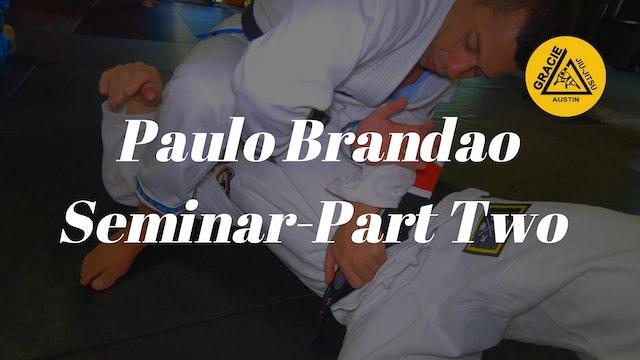Paulo Brandao Seminar 2of3