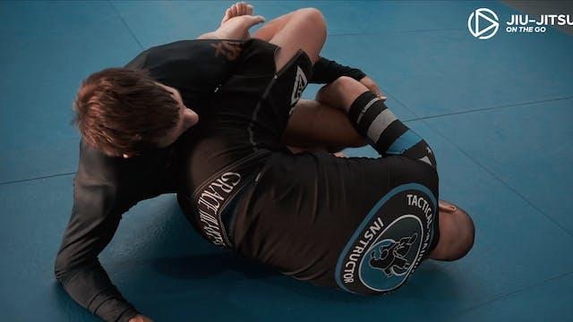 Jiu Jitsu Black Belts Rolling 2of2