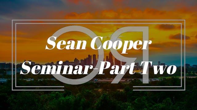 Sean Cooper 2of3