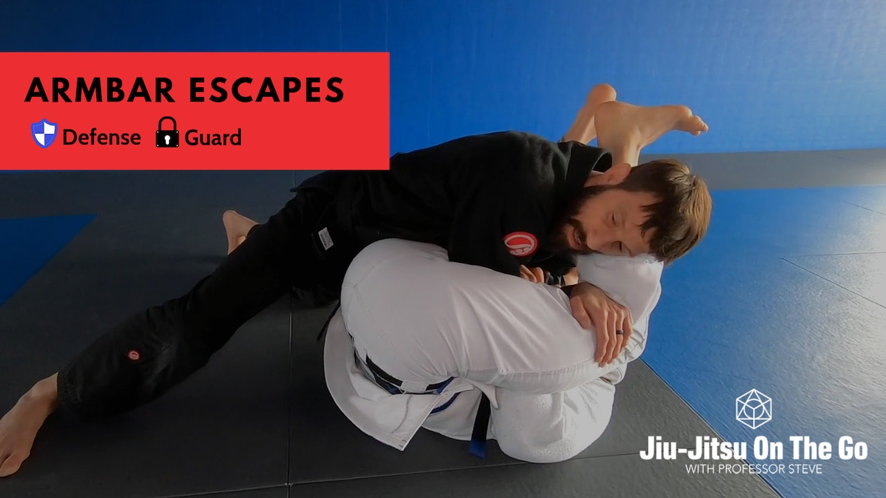 Arm Bar Defense and Escapes