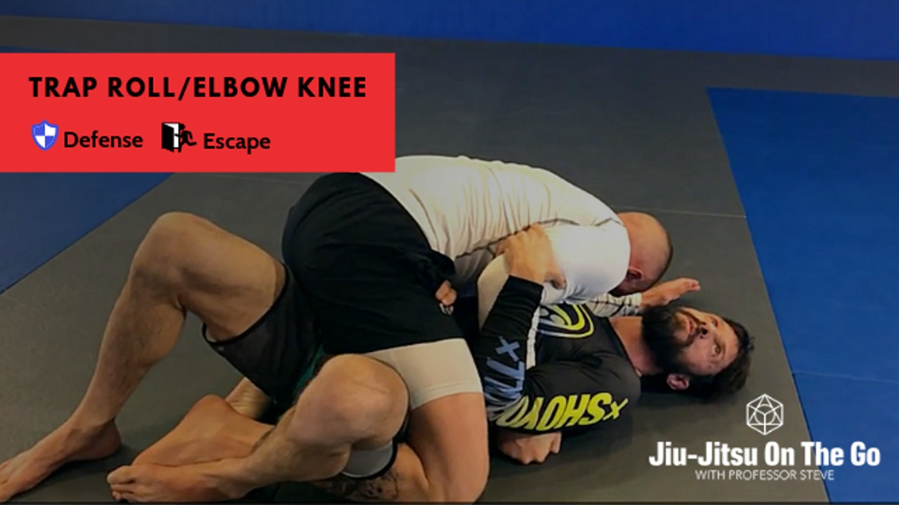 Trap Roll/Elbow Knee Escape