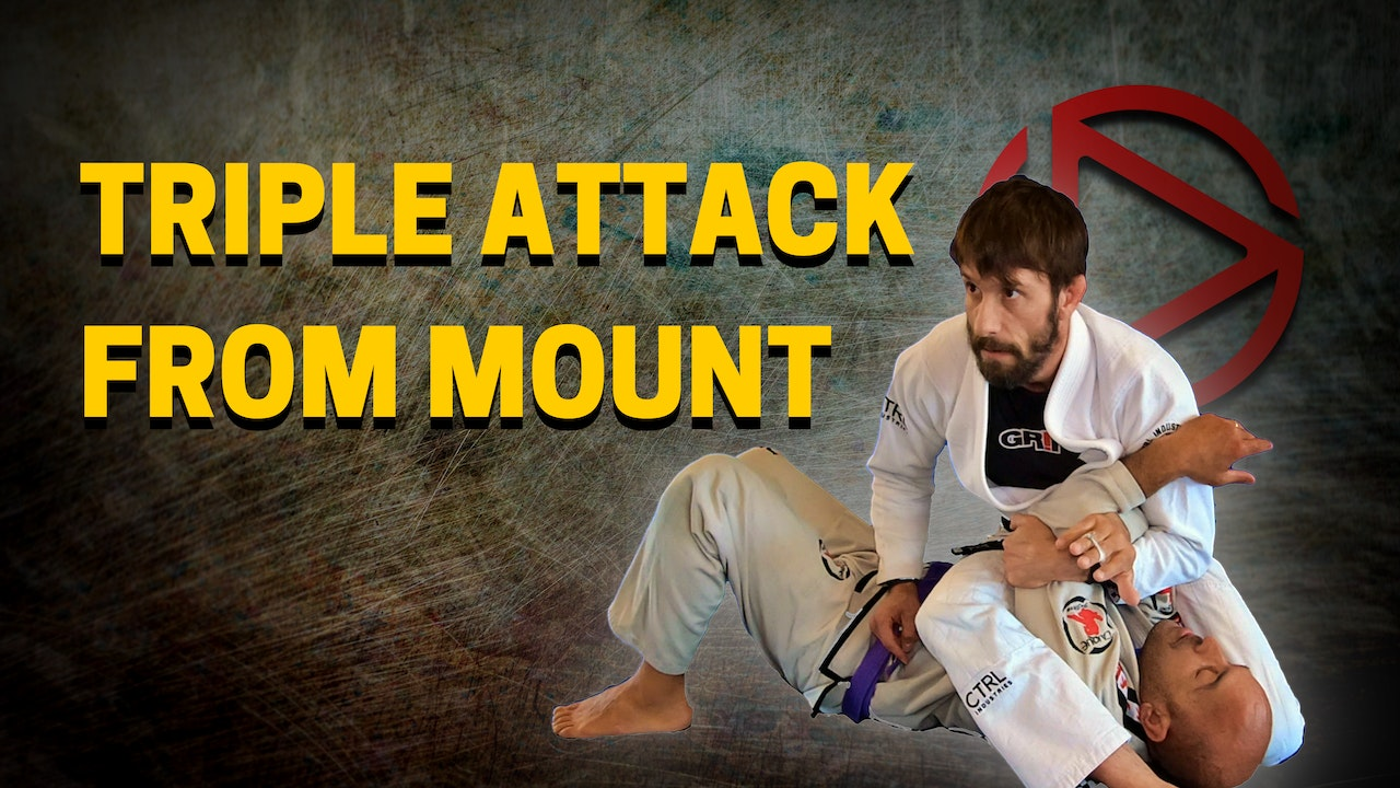 Triple Attack from Mount