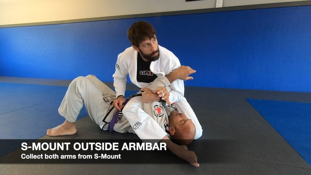 Mount Outside Armbar 4of4