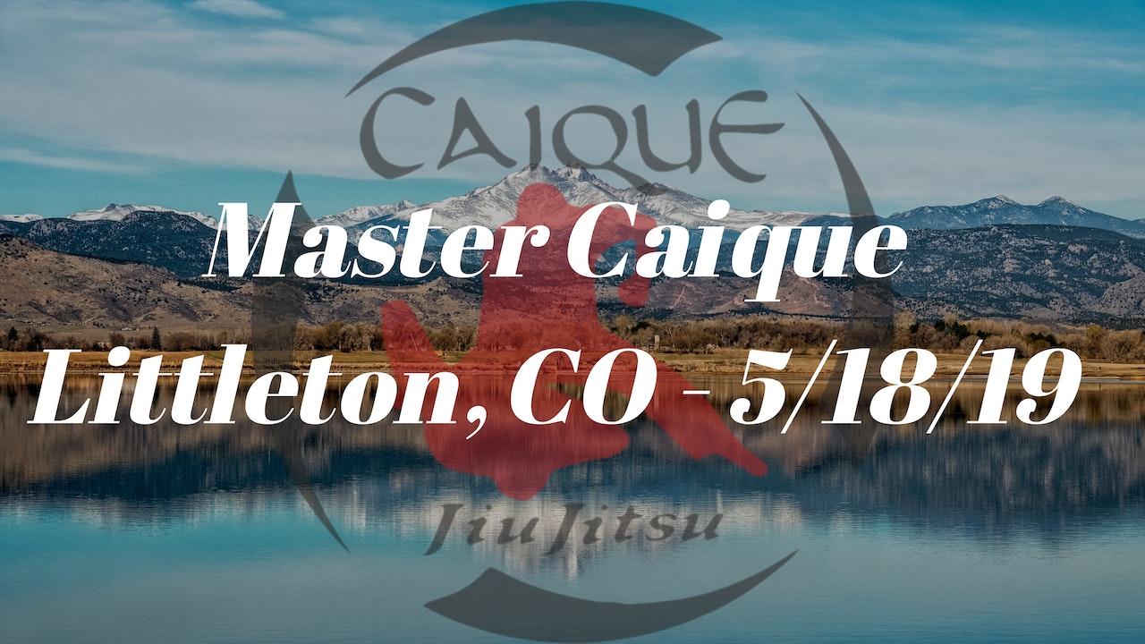 Master Caique Seminar - 5/18/19