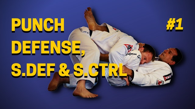 Punch Defense, Self-Defense & Side Control 1of3