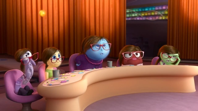 Pixar Inside Out - A Family Dinner Scene
