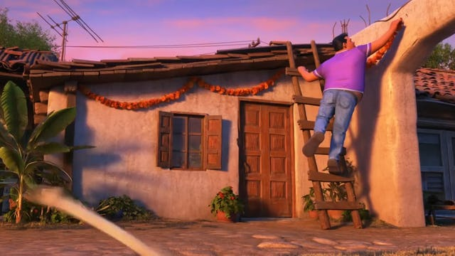 "Disney•Pixar's Coco presents ""Dante's Lunch - A Short Tail"""