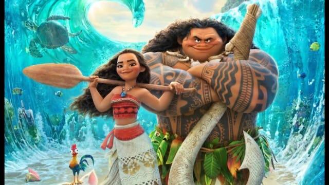 Disney's MOANA - Short Clips Compilation ! (2016)
