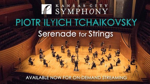 Pyotr Ilyich Tchaikovsky, Serenade fo...