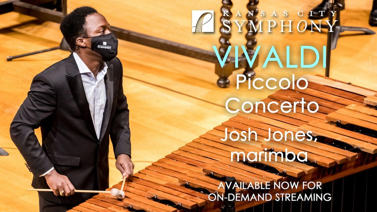 Vivaldi Piccolo Concerto on Marimba