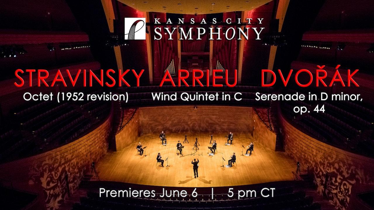 Stravinsky Arrieu Dvorak