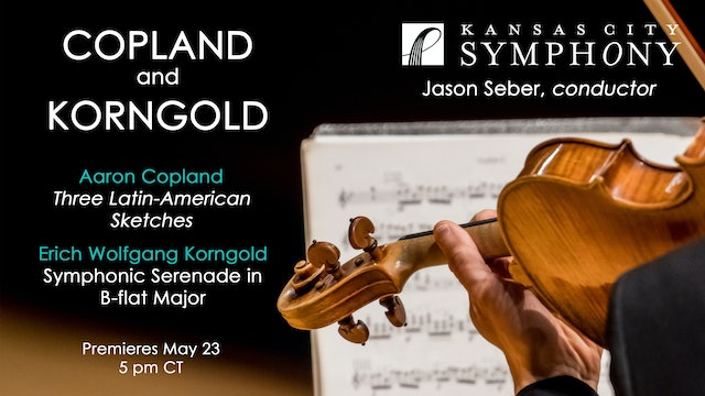 Copland and Korngold