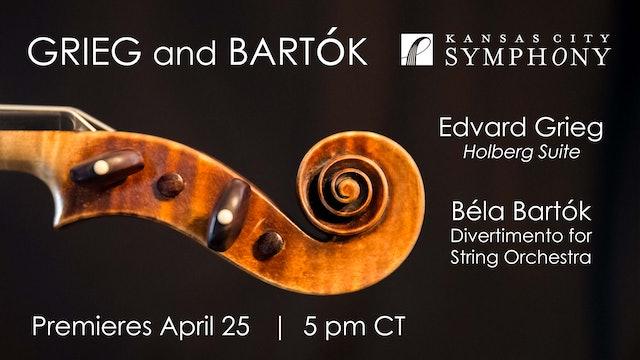 Grieg and Bartók