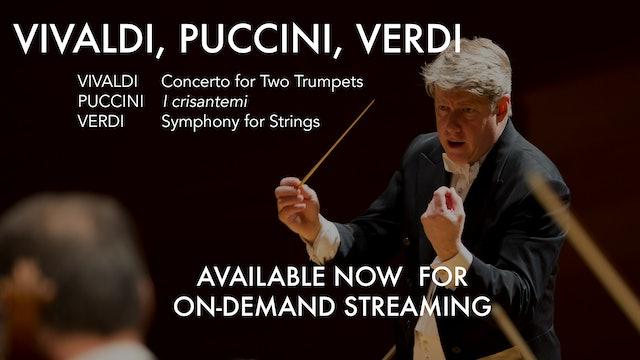 Vivaldi, Puccini and Verdi