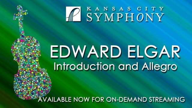 Elgar Introduction and Allegro for String Quartet and String Orchestra, Op. 47