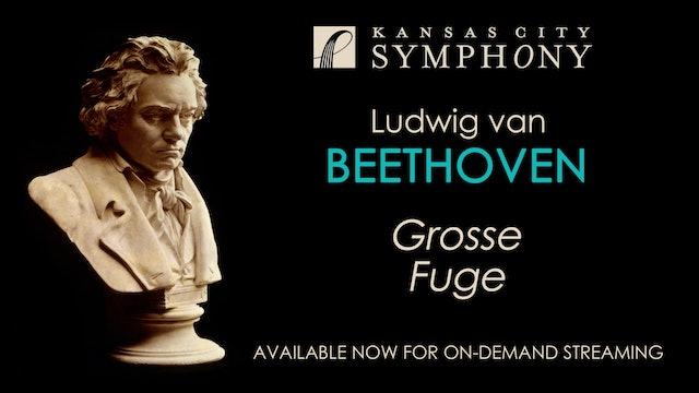 Beethoven Grosse Fuge