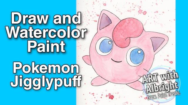 Paint ~ Watercolor Jigglypuff Pokemon